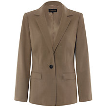 Buy Jaeger Flannel Blazer, Camel Online at johnlewis.com