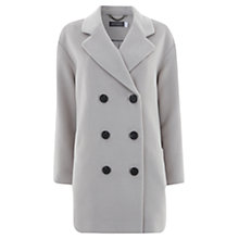 Buy Mint Velvet Double Breasted Herringbone Coat, Latte Online at johnlewis.com