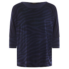 Buy Jaeger Zebra Jersey Top Online at johnlewis.com