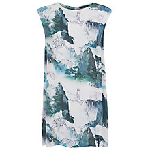 Buy French Connection Misty Mountain Shift Dress, Multi Online at johnlewis.com