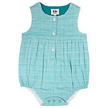 Buy Kin by John Lewis Grid Print Bodysuit Online at johnlewis.com