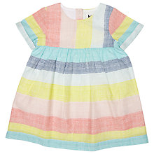 Buy Kin by John Lewis Grid Stripe Dress, Multi Online at johnlewis.com