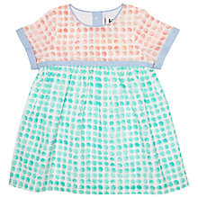 Buy Kin by John Lewis Watercolour Spot Dress, Multi Online at johnlewis.com