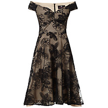 Buy Ariella Nova Prom Short Dress, Black/Champagne Online at johnlewis.com