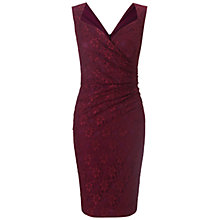 Buy Ariella Evie Lace Shift Dress, Wine Online at johnlewis.com