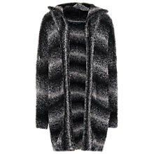 Buy French Connection Snow Blizard Cardigan, Black Online at johnlewis.com