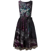Buy Ariella Jenny Print Lace Midi Dress, Multi Online at johnlewis.com
