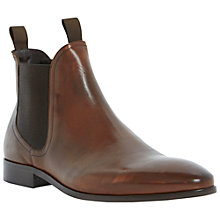 Buy Dune Muggles Leather Chelsea Boots, Tan Online at johnlewis.com