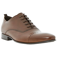 Buy Dune Roccles Oxford Leather Shoes, Tan Online at johnlewis.com