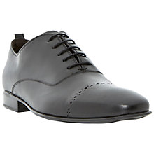 Buy Dune Roccles Oxford Leather Shoes, Black Online at johnlewis.com