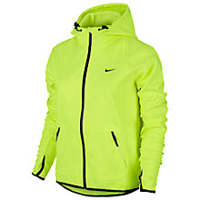 Buy Nike Hypertech Full Zip Training Hoodie, Volt/Black Online at johnlewis.com