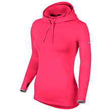 Buy Nike Pro Hyperwarm Fitted Hoodie Online at johnlewis.com