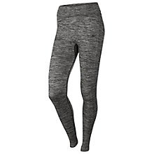 Buy Nike Dri-Fit Knit Training Trousers, Grey Marl Online at johnlewis.com