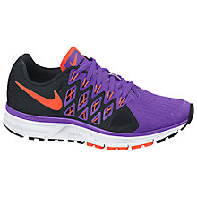 Buy Nike Women's Zoom Vomero+ 9 Running Shoes, Hyper Grape/Hyper Crimson Online at johnlewis.com