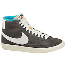 Buy Nike Blazer Mid Suede Women's Trainers Online at johnlewis.com