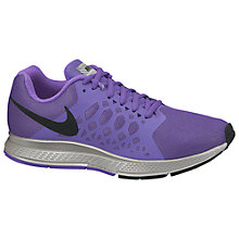 Buy Nike Air Zoom Pegasus 31 Women's Running Shoes, Purple/silver Online at johnlewis.com