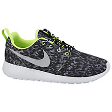 Buy Nike Roshe Run Women's Trainers, Grey Online at johnlewis.com