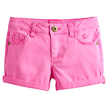 Buy Little Joule Girls' Pond Shorts, Neon Pink Online at johnlewis.com