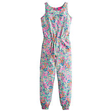 Buy Little Joule Girls' June Floral Jumpsuit, Multi Online at johnlewis.com