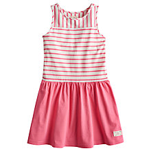 Buy Little Joule Girls' Patsy Stripe Sleeveless Dress, Pink Online at johnlewis.com