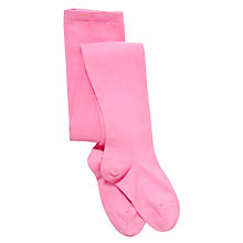 Buy John Lewis Girl Coloured Cotton Tights Online at johnlewis.com