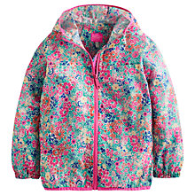 Buy Little Joule Girls' Skye Floral Waterproof Jacket, Multi Online at johnlewis.com