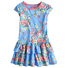 Buy Little Joule Tilly Floral Jersey Ra Ra Dress, Multi Online at johnlewis.com
