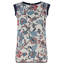 Buy Oasis Tapestry Folk Tee, Multi Online at johnlewis.com