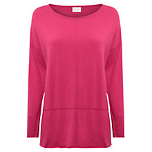 Buy East Seam Detail Jumper, Peony Online at johnlewis.com