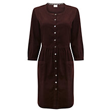 Buy East Pocket Babycord Dress, Espresso Online at johnlewis.com