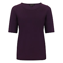 Buy Jaeger Ponte 3/4 Sleeve Top Online at johnlewis.com