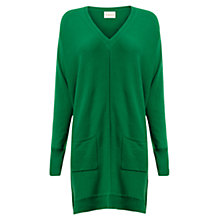 Buy East Slouchy Pocket Tunic Dress, Fern Online at johnlewis.com