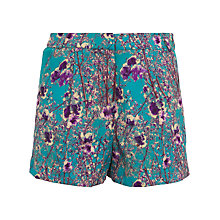 Buy Wolf & Whistle Blossom Print Shorts, Multi Online at johnlewis.com