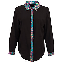 Buy Whistle & Wolf Chiffon & Blossom Shirt, Multi Online at johnlewis.com