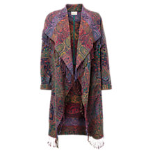 Buy East Waterfall Shawl Coat, Multi Online at johnlewis.com