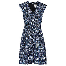 Buy Reiss Dara Abstract Print Dress, Abstract Ocean Print Online at johnlewis.com