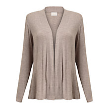 Buy East Peplum Jersey Cardigan, Pebble Online at johnlewis.com