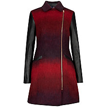 Buy Ted Baker Double Breasted Coat, Tangerine Online at johnlewis.com