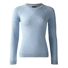Buy Jigsaw Cashmere Raglan Crew Neck Sweatshirt Online at johnlewis.com