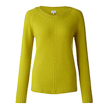 Buy Jigsaw Lambswool & Cashmere Wishbone Sweater Online at johnlewis.com