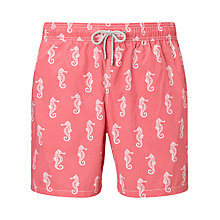 Buy Hackett London Seahorse Print Swim Shorts Online at johnlewis.com