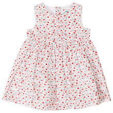 Buy John Lewis Ditsy Floral Dress, Red Online at johnlewis.com