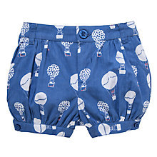 Buy John Lewis Hot Air Balloon Shorts, Blue Online at johnlewis.com