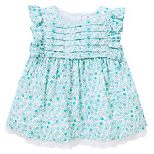 Buy John Lewis Ditsy Woven Top, Green Online at johnlewis.com