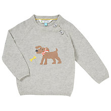 Buy John Lewis Dog Jumper, Grey Online at johnlewis.com