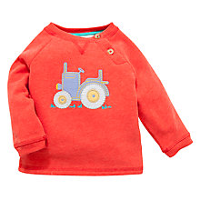 Buy John Lewis Tractor Jumper, Red Online at johnlewis.com