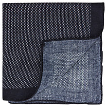 Buy Aquascutum Linton Spotted Wool Handkerchief Online at johnlewis.com