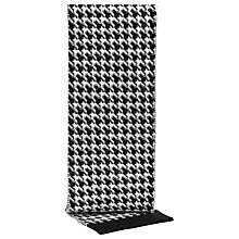 Buy Reiss Baldrick Houndstooth Merino Scarf, Black/White Online at johnlewis.com