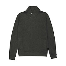 Buy Reiss Quilt Shawl Collar Swearshirt Online at johnlewis.com