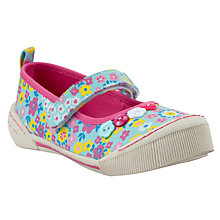 Buy John Lewis Daisy Ditsy Floral Mary Jane Shoes, Pink/Multi Online at johnlewis.com